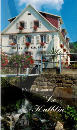 Hotel Restaurant Du Kalblin : Hotel near Aubure