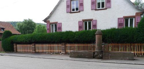 Un gîte dans la vallée : Apartment near Climbach