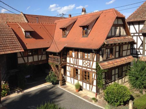 Gîte Bei der Kirche : Apartment near Mittelschaeffolsheim