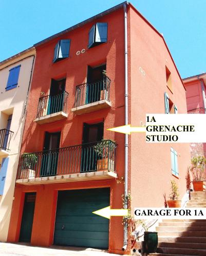 Grenache : Apartment near Port-Vendres