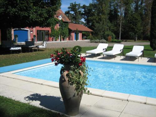 Domaine de la Sérita : Bed and Breakfast near Saint-Denis-Combarnazat