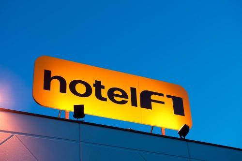 hotelF1 Strasbourg Sud Illkirch : Hotel near Entzheim