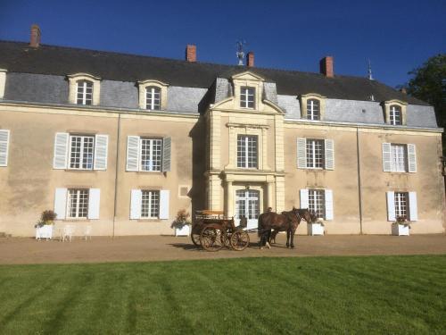 Chateau De Piedouault : Guest accommodation near Bégrolles-en-Mauges