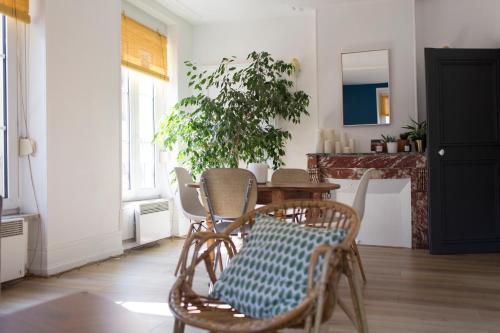 Le Serpenoise : Apartment near Mey