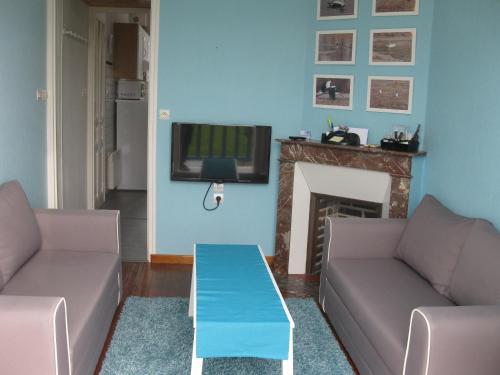Maison avec terrasse et jardin 300 mètres plage : Guest accommodation near Mers-les-Bains