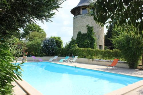 Le Moulin de Margaux : Guest accommodation near Saint-Genès-de-Blaye