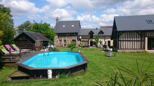 La Gerbaudiere Chambres & Tables d'Hôtes : Bed and Breakfast near Saint-Clément-Rancoudray