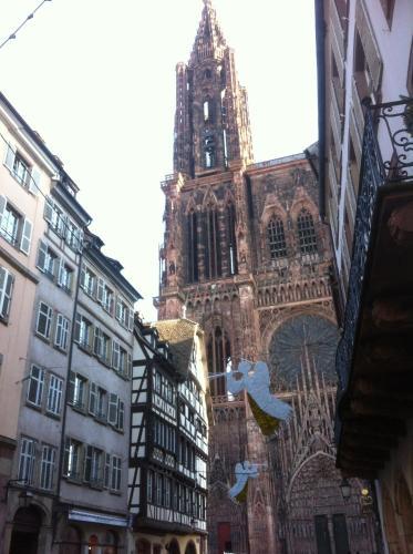 Triplex avec terrasse vue sur Cathédrale : Apartment near Strasbourg