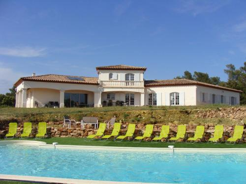 Villa Domaine des Alizes : Guest accommodation near Carnoules