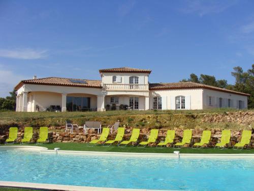 Villa Domaine des Alizes : Guest accommodation near Rocbaron