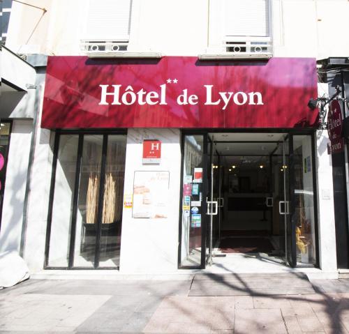 Hôtel de Lyon : Hotel near Guilherand-Granges