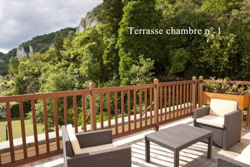 Les 3 Falaises : Hotel near Sainte-Marie-de-Vatimesnil