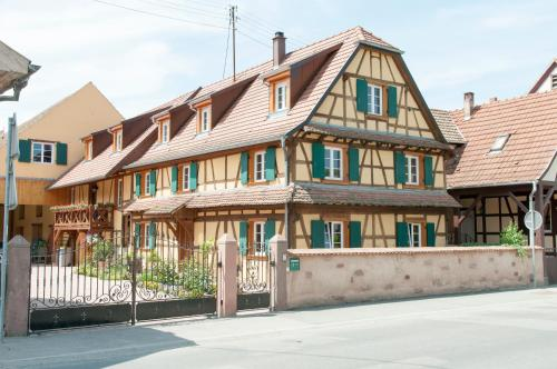 Les Gîtes de l'Orchidée du Ried : Guest accommodation near Mussig