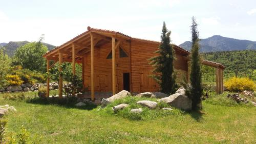 Chalet Mont Canigo : Guest accommodation near Baillestavy