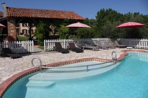 La Ferme de Maurel : Bed and Breakfast near Lafitte-Vigordane