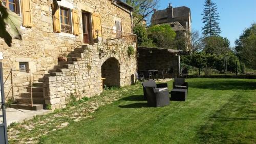 Gîte de Montrozier : Guest accommodation near Le Vibal