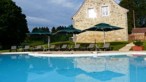 Domaine de Janis & Spa : Guest accommodation near Saint-Projet