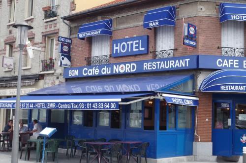 Café du Nord-Izmir hôtel : Hotel near Gonesse