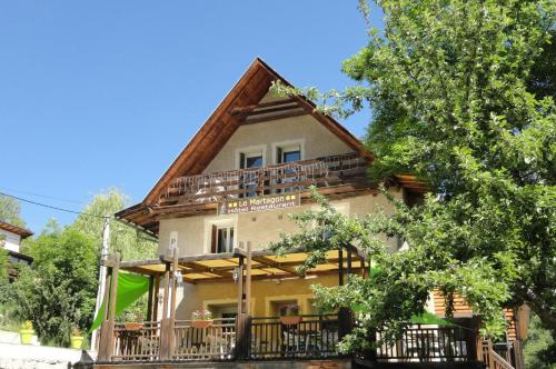 Hôtel Restaurant Le Martagon : Hotel near Beauvezer