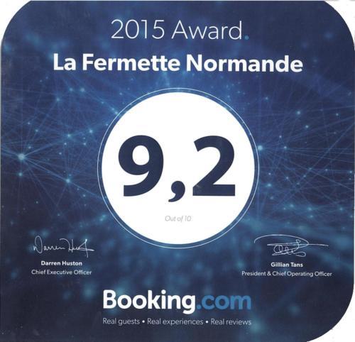 La Fermette Normande : Bed and Breakfast near Saint-Ouen-Marchefroy