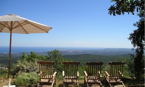 Les Mas d'Azur Villa : Guest accommodation near Roquesteron