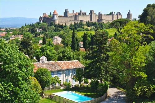 L'Orée de la cité : Guest accommodation near Cazilhac
