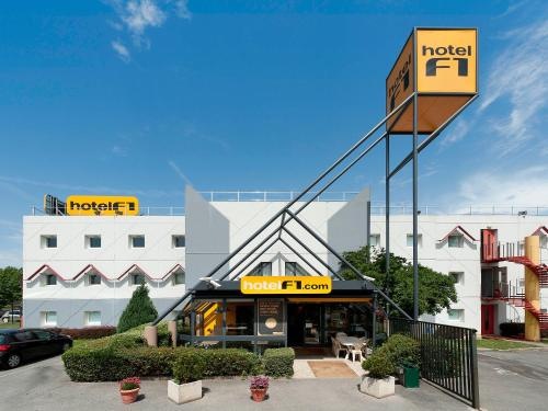 hotelF1 Perpignan Sud : Hotel near Toulouges