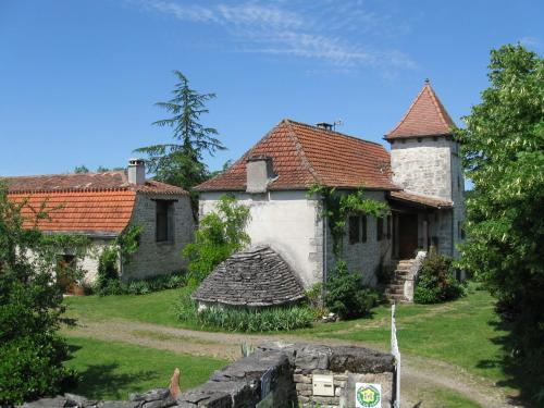 Chambres d'hôtes Pech Blanc : Bed and Breakfast near Calvignac