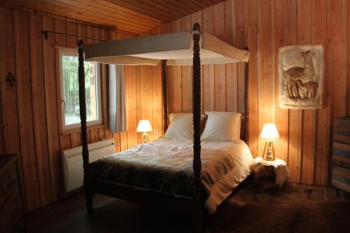 L'isba des bois, hors du temps : Apartment near Torfou