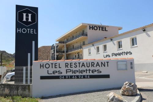 Hôtel Restaurant les Pielettes : Hotel near Gignac-la-Nerthe