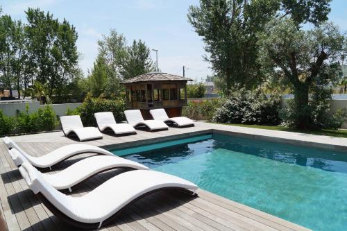 La Villa du Triangle : Guest accommodation near Agde