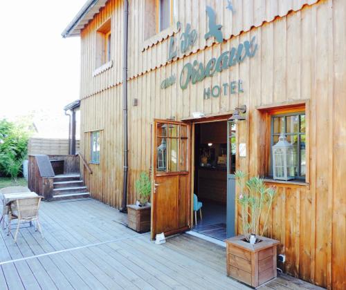 Hôtel L'Ile aux Oiseaux : Hotel near Lanton