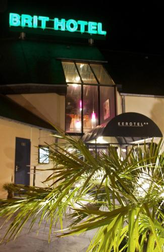Brit Hotel, Le Kerotel : Hotel near Lorient