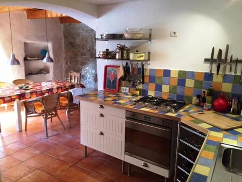 La Forge : Guest accommodation near Agel
