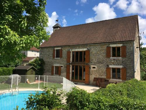 La Grange Du Noyer : Guest accommodation near Teyssieu