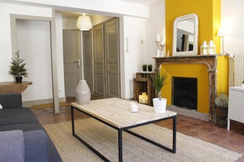 Le relais de la maison Bacou : Apartment near Carcassonne