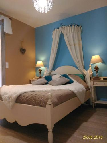 Villa Lescala : Guest accommodation near Saint-Seurin-de-Cursac