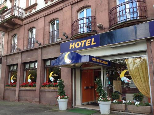 Hôtel Nid de Cigognes Strasbourg Centre Gare : Hotel near Eckbolsheim