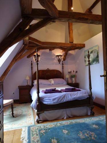 Les Bressettes : Bed and Breakfast near Journiac