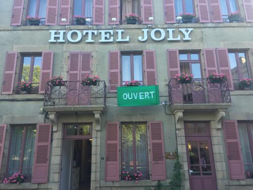 Hotel Joly : Hotel near Bussière-Dunoise
