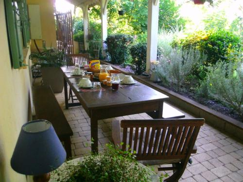 Le Bord de l'eau : Bed and Breakfast near Saint-Aubin-de-Branne