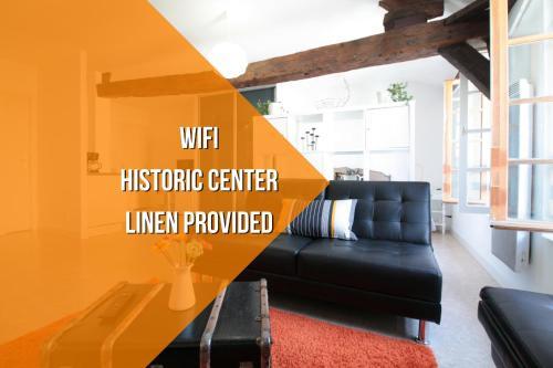 Appartement Centre Historique : Apartment near Theix