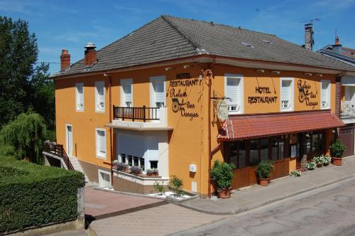 Hôtel Relais des Vosges : Hotel near Montcharvot