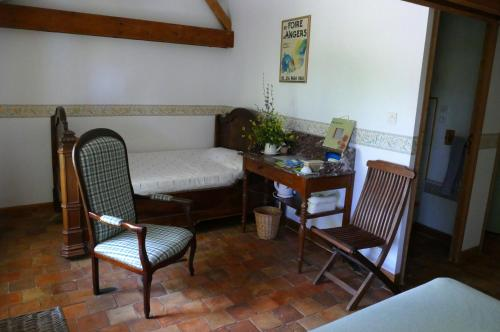 Anjubauderie : Bed and Breakfast near Faye-d'Anjou