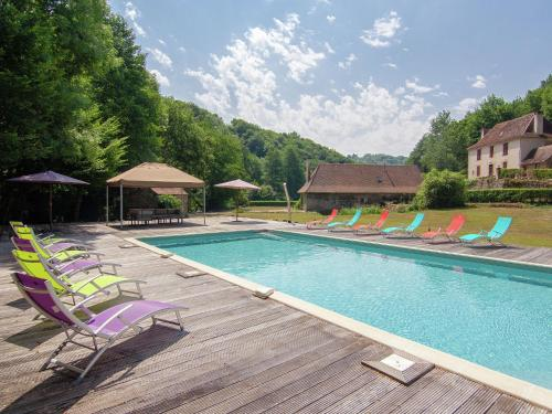 Moulin du Bouc : Guest accommodation near Dussac