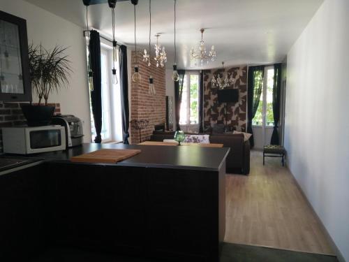 La Maison d'Alexandre : Apartment near Équemauville