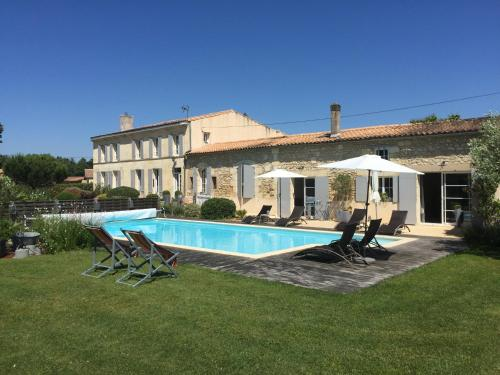 La Bastide de Margaux : Bed and Breakfast near Mombrier