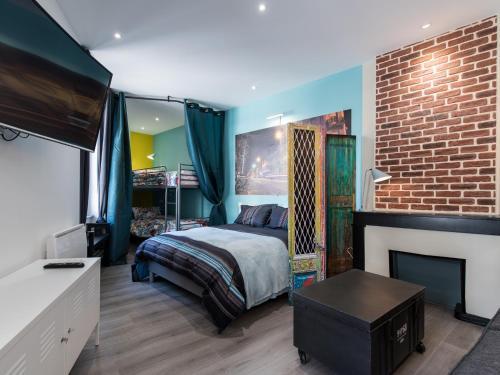 Appartement Gutenberg - Saint Etienne City Room : Apartment near La Tour-en-Jarez