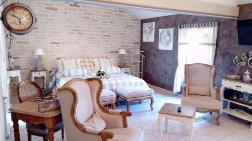 B&B Nuits Campagnardes : Bed and Breakfast near Marenla