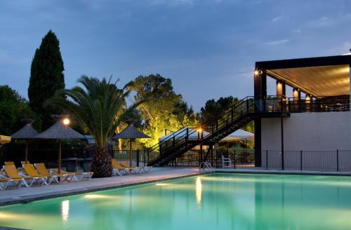 Résidence Les Jardins de Massane : Guest accommodation near Mudaison